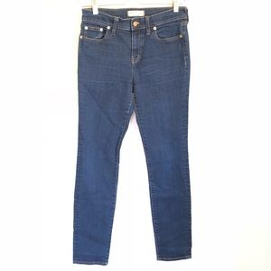 Madewell Alley Straight Jeans Dark Wash 28